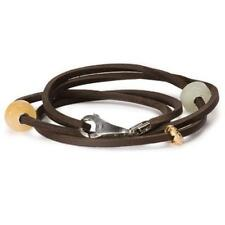 Trollbeads Leather Bracelet/Necklace, Brown cm36 ( l510436 )