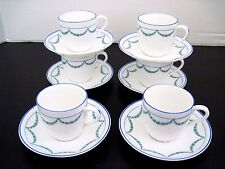 ROYAL GUSTAFSBERG J H V 6 Cups and Saucers Sweden Bone China Pattern 2137