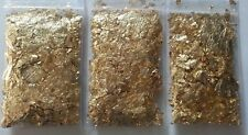 ORGONE SUPPLIES PYRAMID N MORE - 3 BAGS 24k GOLD FLAKE REFILL FOR MY ORGONE KITS
