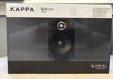 "Infinity KAPPA 64CFX 360 Watt 4""x 6"" Kappa Series 2-Way Coaxial Car Speakers NEW"