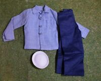 VINTAGE ACTION MAN 40th ACTION SAILOR SHIRT JEANS & CAP for GI JOE 1/6 SCALE