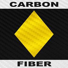 Diamond Sticker Carbon Fiber Vinyl Card Symbol Decal