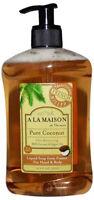 French Liquid Soap, A La Maison, 16.9 oz Pure Coconut