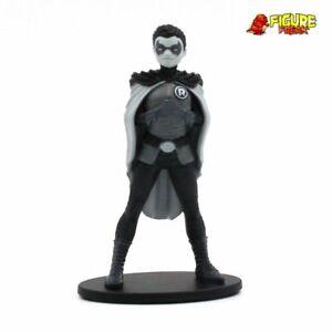"Batman Black and White 3.75"" PVC Mini Figure Series 2 Frank Quitely Robin sculpt"