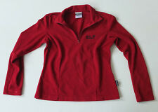 Jack Wolfskin Fleece Polo Pullover Gr. XS TOP Sweatshirt