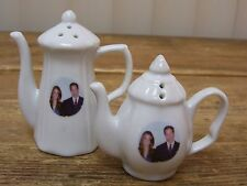 Prince William Catherine Middleton Wedding Westminster Abby Salt Pepper Shakers