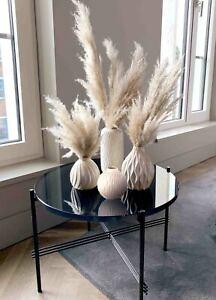 Vasen-Set ZALINA aus Porzellan, 4-tlg. beige creme