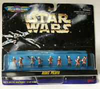 NEW Star Wars Micro Machines Rebel Pilots Galoob 66076 1996