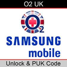 O2 UK Samsung Unlock & PUK Code (FAST/SAME WORKING DAY PROCESSING)