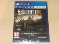 Resident Evil Biohazard PS4 Playstation 4 VR Compatible **BRAND NEW & SEALED**