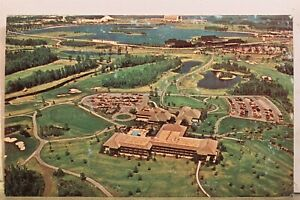 Walt Disney World Magic Kingdom Golf Postcard Old Vintage Card View Standard PC