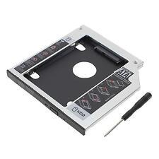 SATA to SATA 2nd HDD SSD Hard Drive 9.5mm Universal Caddy CD/DVD-ROM Optical Bay
