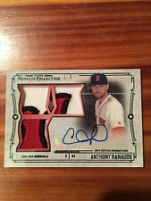 2015 Topps Museum Collection ANTHONY RANAUDO Autograph Card 1/5 RARE