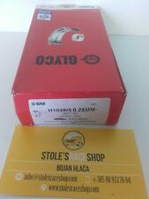 GLYCO BIG END SHELL BEARINGS FIAT SEAT 127 850 A112 903 965 +0.25mm