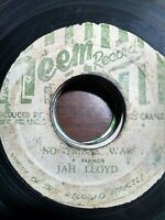 "Jah Lloyd-No Tribal War 7"" Vinyl Single 1975 ROOTS REGGAE"