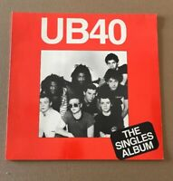 UB40!! THE SINGLES ALBUM!!! FIRST PRESS IMPORT ORIG. 1982 REGGAE/ NEW WAVE VINYL