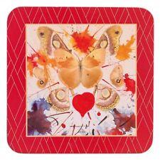 Hallmark by Enesco A28486 Salvador Dali Coasters Butterfly Valentine Set of 4