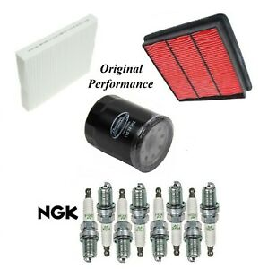 Tune Up Kit Air Cabin Oil Filters Spark Plugs For INFINITI M45 V8 4.5L 2006-2010