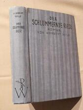Herbert selvaggina, il commitments gigante, Knaur per 1930, Thomas Mann & scheffauer