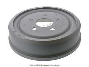 VW VANAGON (1980-1991) Brake Drum REAR LEFT or RIGHT (1) ZIMMERMANN COAT Z