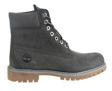 "Timberland 6"" Premium Boot # TB0A1UFH Dark Grey Gum Bottom Men SZ 8 - 13"