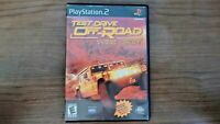 Sony PlayStation 2 Test Drive Off-Road: Wide Open Complete Driving Racing PS2