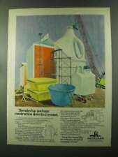 1973 Hercules Chemical Ad - Package Construction