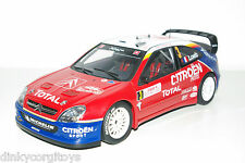 AUTOART AUTO ART CITROEN XSARA WRC MONTE CARLO 2004 NEAR MINT RARE SELTEN