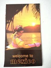 Vintage Mexico Travel Brochure Guide 1982