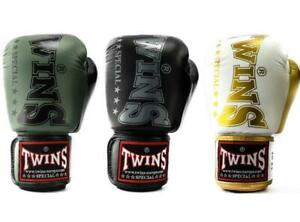 Twins Logo Boxing Gloves Adult Muay Thai Sparring Gloves 10oz 12oz 14oz 16oz