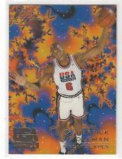 1994 FLAIR USA U.S.A. BASKETBALL DERRICK COLEMAN #16 - DREAMSCAPES