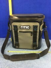 RTIC Personal Soft Cooler Black/Blue/Gray