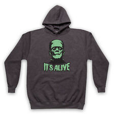 FRANKENSTEIN MONSTER IT'S ALIVE UNOFFICIAL HORROR ICON ADULTS & KIDS HOODIE