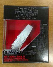 Star Wars Titanium Black Series Die Cast First Order Troop Transport #14 NISB