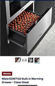 Miele warming drawer ESW 7120 Brand New