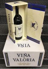 4 Stück VINA VALORIA Rioja Rotwein Crianza 2009 1,5l 13,5 % Vol. in Geschenkbox