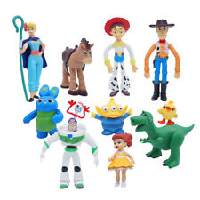 Toy Story Figures Buzz Lighter Woody Jessie 11 Pcs Action Figure Cake Topper Gif