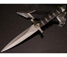 "11.5"" DARK ASSASSIN STAINLESS STEEL SHORT SWORD MEDIEVAL DAGGER w/ SHEATH"