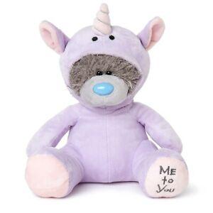 Me To You Purple Unicorn Dress Up Tatty Teddy Bear