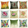 """Birch Tree Cushion Cover Modern Flower Pillow Case Home Decorative Cojines 18"""""""