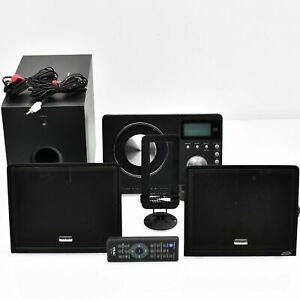 TEAC MC-DX32i AM-FM CD Player iPod Dock HI-FI Stereo System / Remote / Subwoofer