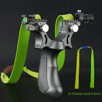 Elastico professionale da caccia Catapult Slingshot Outdoor Practice 2x Rubber
