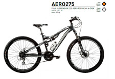 BICICLETTA BICI MTB  FULL SUSPENSION 27,5 ART. AERO275  DISK.IDRAULIC ACERA 24V