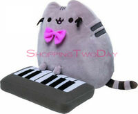 """PUSHEEN BOOKS A MILLION EXCLUSIVE STUFFED ANIMAL PLUSH WITH KEYBOARD 10"""" TOY"""