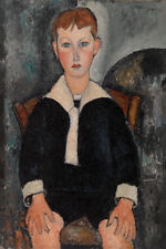 Boy in Sailor Suit by Amedeo Modigliani 60cm x 40cm Art Paper Print