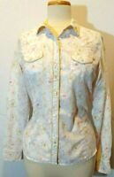 Women's Cowgirl Up Embellished Western Shirt Sz M Glittery Accents