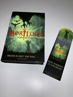 Mortlock By Jon Mayhew Signed Stamped & Dated Hardback Book & Bookmark VGC