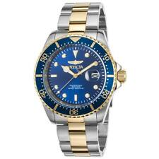 Invicta Men's Pro Diver Sport Watch 22058 Blue Dial 43mm Stainless Steel
