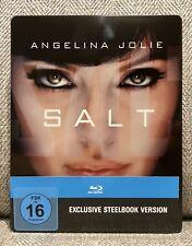 SALT blu ray STEELBOOK [GERMAN 1st PRINT] w/J-SLIP GREAT CONDITION RARE PLS READ
