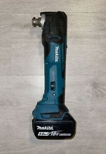 Makita DTM51 18v Cordless Multi Tool + 5Ah battery